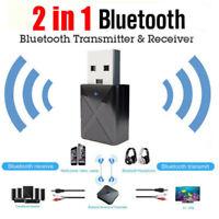 Hot USB Bluetooth 5.0 Receiver Audio Transmitter Adapter For Headphone Speaker