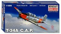 Minicraft T-34A Civil Air Patrol 1:48 scale airplane model kit new 11695
