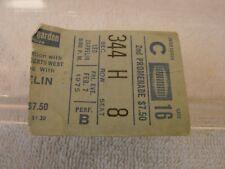 LED ZEPPELIN CONCERT TICKET STUB FEB. 7TH 1975 MADISON SQUARE GARDEN NEW YORK