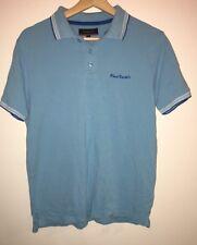 Men's Light Blue Polo Top Size S Pierre Cardin<NH7783