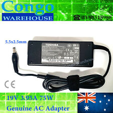 Charger For TOSHIBA Satellite C850 C850D PRO L300-156 PA-1750-09 75W 19V 3.95A