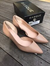 Basque Letty Heels Size 371/2
