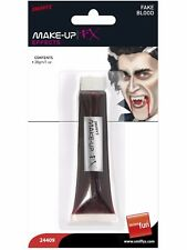 Tube Of Halloween Fake Joke Red Blood 28ml Fancy Dress Vampire Zombie Make Up