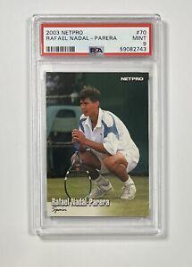 2003 Netpro Tennis Rafael Nadal Rookie #70 RC PSA 9