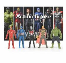 New listing Ybn Toy World Legends Action Figures-Toys Set 6 Inch Superheros Collection 5pack