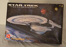 AMT ERTL Star Trek USS Enterprise B NCC-1701-B Model 8762 Opened box SEALED Bags
