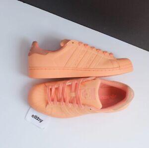 Adidas Adicolor Superstar Sunset Glow Reflective S80330 Size 8.5 Men