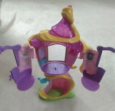 "EUC 11"" Disney Rapunzel Tangled Tower Playset by Hasbro Toy"