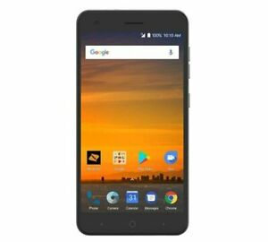 ZTE Blade Force - 16GB - Blue - Brand New (Open Box) Boost Mobile
