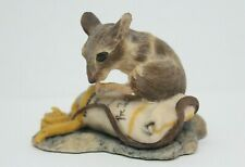 Lowell Davis Signed Mouse w/Paint Tube Hand Painted Schmid Scotland
