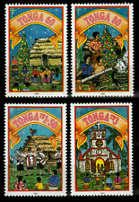 Tonga 1295-98 **, Weihnachten 1993