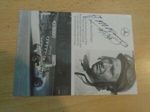 Original Juan Manuel Fangio Motor Sports