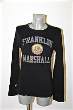 top sweat long sleeves black FANKLIN MARSHALL Size XS NEW LABEL