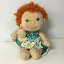 1985 Kenner Hugga Bunch Ticklet & Hugglet Gigglet Plush Toy Doll 48cm Tall #915