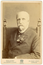 Walery, London, Duc d'Aumale Vintage silver print  Tir