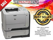 HP LaserJet P3015X Printer Fully Remanufactured Low Page Count See Pics CE529A