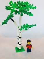 LEGO Tree Custom Birch Aspen! Moc, City, Town, Brand New Parts, Green Leaves!