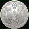 2019 1oz Dollar Bear BU Silver Shield .999 Silver Death of the Dollar Series #21