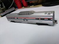 HO SCALE  LOT# 133 AMTRAK DOME LOUNGE PASSENGER CAR