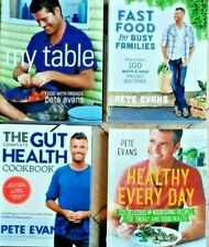 GUT HEALTH / FAST FOOD FOR BUSY FAMILIES / HEALTHY EVERY DAY...PETE EVANS...VGC