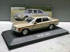 Mercedes Benz 500 SE w126 1:43 NEUF ET Neuf dans sa boîte
