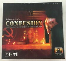 CONFUSION (ESPIONAGE AND DECEPTION IN THE COLD WAR) - NEW - BOARD GAME