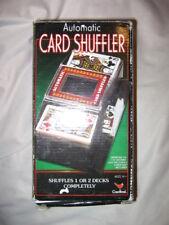 CARDINAL AUTOMATIC CARD SHUFFLER, NEW IN BOX SHUFFLES 1 OR 2 DECKS -FREE SHIP