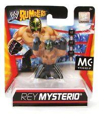 WWE Rumblers Rey Mysterio 4cm Mini Figurines Le monde Lutte Divertissement V3062
