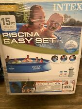 BRAND NEW INTEX Easy Set Inflatable Swimming Pool W/ Pump and Filter FAST SHIP!