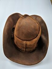 c76f4393 Size M Brown Leather Hats for Men for sale | eBay
