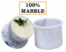 RADICALn Butter Dish Cover Pot Handmade Marble French Butter Crock Keeper