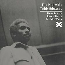 Inimitable - Teddy Edwards (2016, CD NIEUW)