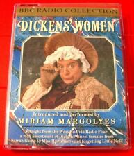 Miriam Margolyes Reads Dickens' Women BBC 2-Tape Audio Book (Charles)