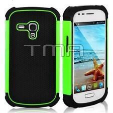 For Samsung Galaxy S3 Mini Case Impact Hybrid Shockproof Cover (i8190) - Green