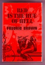 RED IS THE HUE OF HELL (Fredric Brown/1st Limited US/SIGNED by Walt Sheldon)
