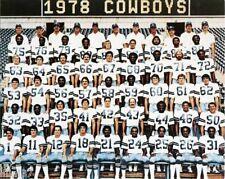 1978 DALLAS COWBOYS FOOTBALL TEAM 8X10 PHOTO