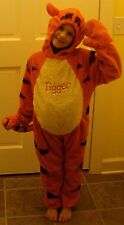 DISNEY STORE Winnie The Pooh TIGGER Tiger Fancy Dress Kids COSTUME XXS 2/3