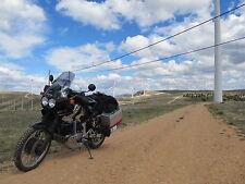 Motorrad Moped Mofa Transport Schwarzes Gepäcknetz Helmnetz Gepäckspinne 40x40cm