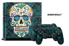 247 Skin Sony PS4 Sugar Skully Playstation Wrap Decal Sticker Wrap