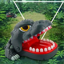 BIG Dinosaur Mouth Dentist Bite Finger Game Toy Family Funny For Kids Boy Girls