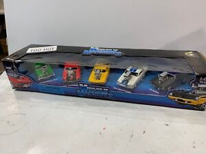 New MUSCLE MACHINES 5 PACK TOO HOT For Cast Cars 66 PONTIAC GTO 69 CAMARO +More