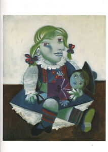 PABLO PICASSO - MAYA WITH DOLL * VERY RARE PRINT 1993
