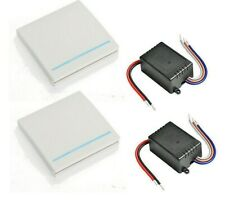 Smart Push Wireless Switches Light Remote Control 110V 220V Receiver Wall Panels