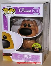 FUNKO POP 2016 SDCC DISNEY MOVIE UP DUG WITH CONE #202 TOY TOKYO EXC In Stock