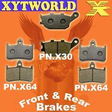 FRONT REAR Brake Pads for Honda VTR 1000 FV/FW/FX/FY/F1-F6 Firestorm 1997-2006