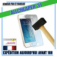 Vitre Verre Trempé IPHONE 5 5s 5se 5c Anti Casse Films Protection  Authentique
