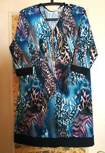 Mode robe tunique de chez Ms taille 48/50, gomme les rondeurs
