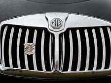 MG Bonnet 2386 Grille Real Photo A4 Metal Sign Aluminium