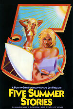 Five Summer Stories 1972 Movie Poster print artwork by Rick Griffin