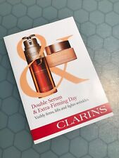 CLARINS Double Serum & Extra Firming Day Cream Trial Travel SAMPLE CARD New